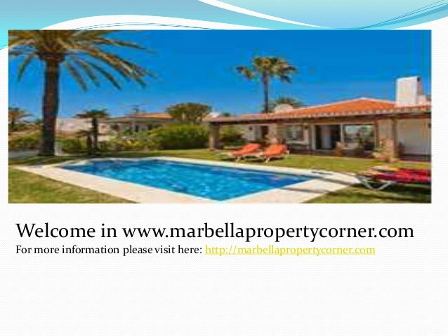 Welcome in www.marbellapropertycorner.com For more information please visit here: http://marbellapropertycorner.com