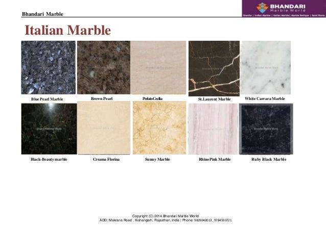 Bhandari Marble Kishangarh India