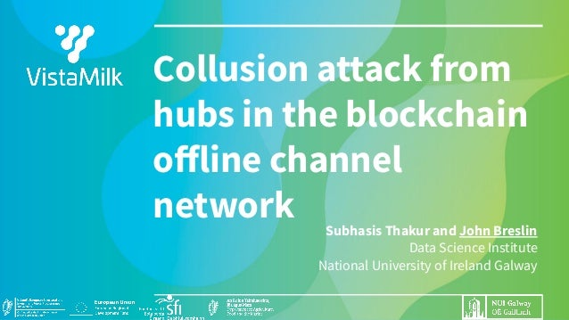 Subhasis Thakur and John Breslin Data Science Institute National University of Ireland Galway Collusion attack from hubs i...