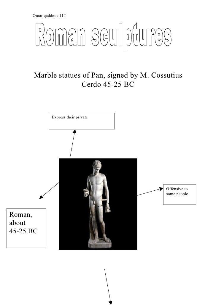 Omar qaddoos 11T           Marble statues of Pan, signed by M. Cossutius                      Cerdo 45-25 BC              ...