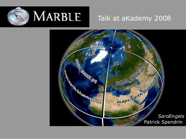 Talk at aKademy 2008 SaroEngels Patrick Spendrin