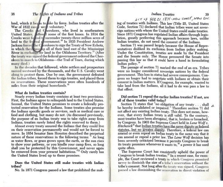 38                                                                                                 Indian Treaties        ...