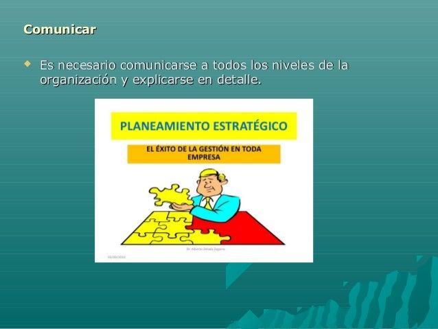 ComunicarComunicar  Es necesario comunicarse a todos los niveles de laEs necesario comunicarse a todos los niveles de la ...