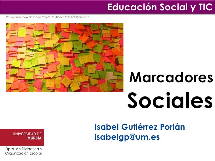 Educación Social y TICPor outii en www.flickr.com/photos/outinok/5950287595/sizes/z/                                      ...