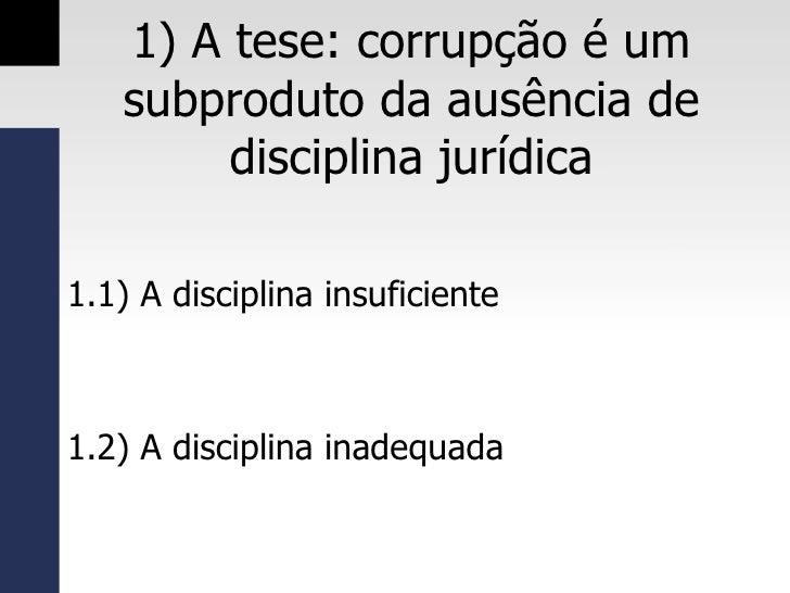 Direito dos Contratos Administrativos: Entre o estímulo às boas  práticas e o combate à corrupção Slide 3