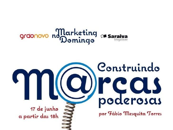 Primeira reflexão: Marketing Democrático& Marketing de Conteúdo