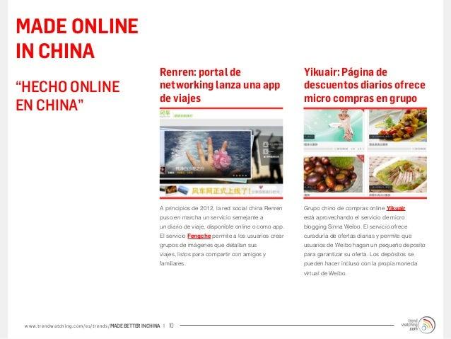 MADE ONLINEIN CHINA                                                             Renren: portal de                         ...