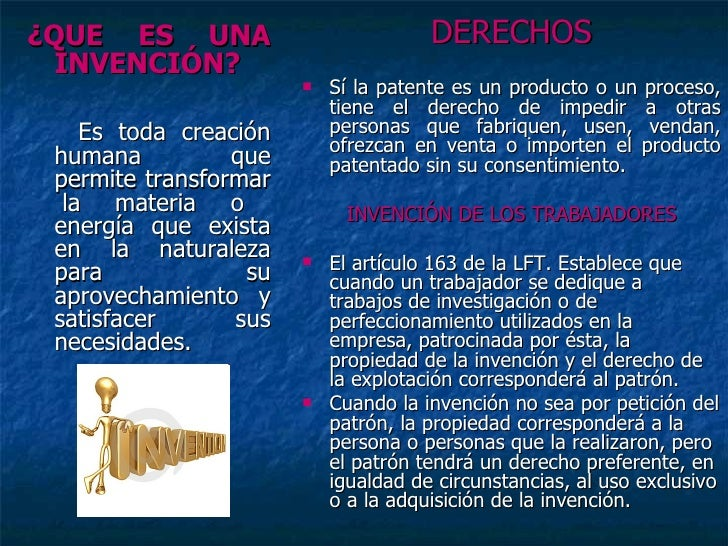invenciones patentes y marcas derecho mercantil