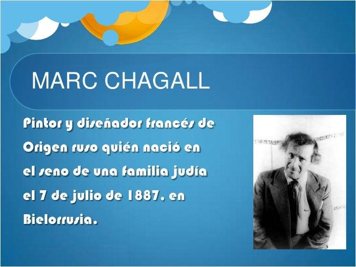Marc chagall Slide 2