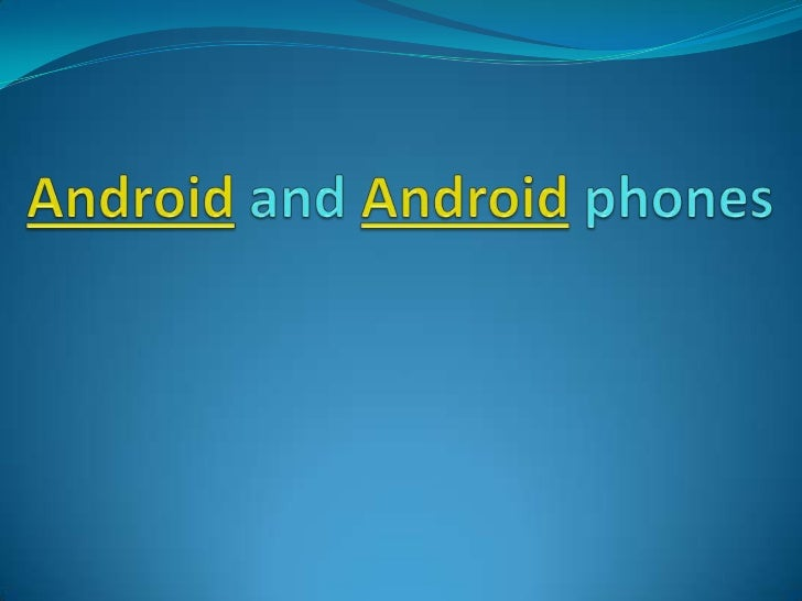 •Introduction Android powers hundreds of millions of mobile devices in more than 190 countries around the world. Its the ...