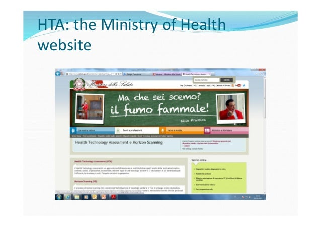 In 2013 in Europe… The HTA Network is established