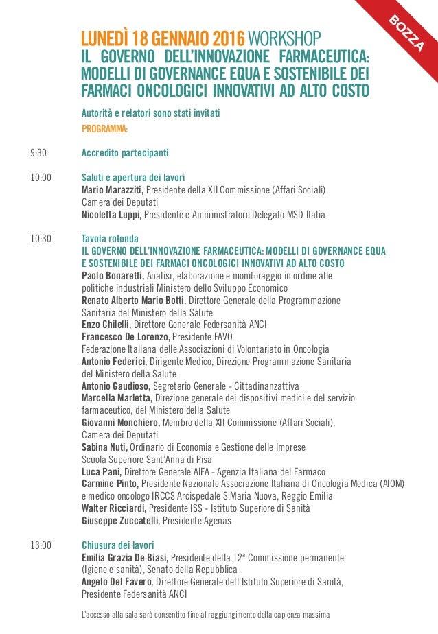 Marcella Marletta Workshop Il Governo Dell 39 Innovazione