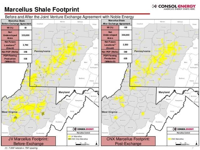 CONSOL Energy & Noble Energy Marcellus Shale Joint Venture