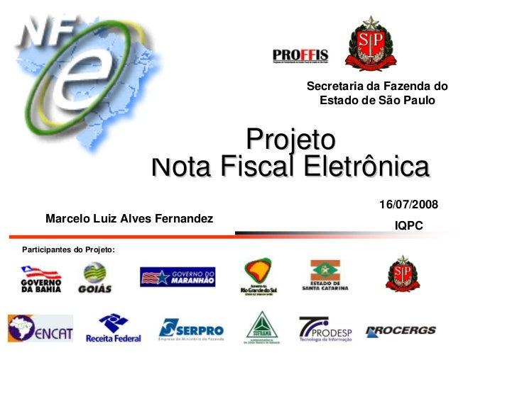 Secretaria da Fazenda do                                           Estado de São Paulo                                    ...