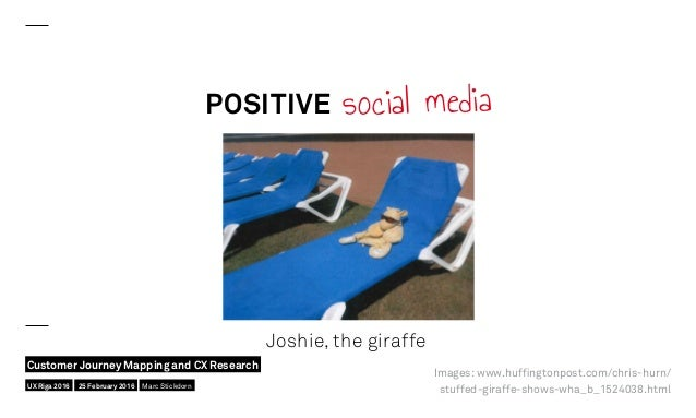 POSITIVE social media Joshie, the giraffe Images: www.huffingtonpost.com/chris-hurn/ stuffed-giraffe-shows-wha_b_1524038.h...