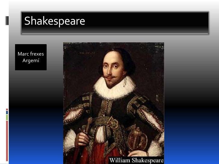 Shakespeare<br />Marc frexesArgemí<br />