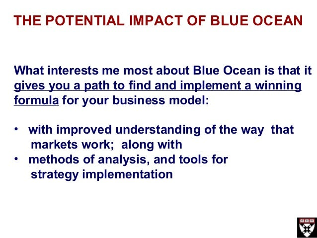 blue ocean strategy tools analysis Earnings analysis earnings news blue ocean strategy as an investment tool nov 13 blue ocean strategy is a great tool to assess the quality of a company.