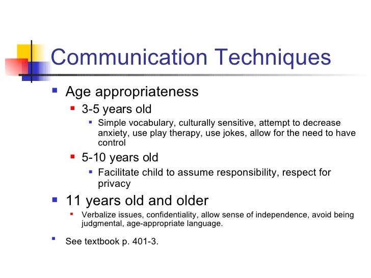 March 11 Childhood Disorders And Communication