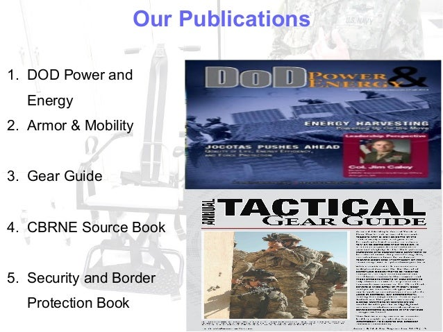 Browse tacticaldefensemedia.com Slide 3