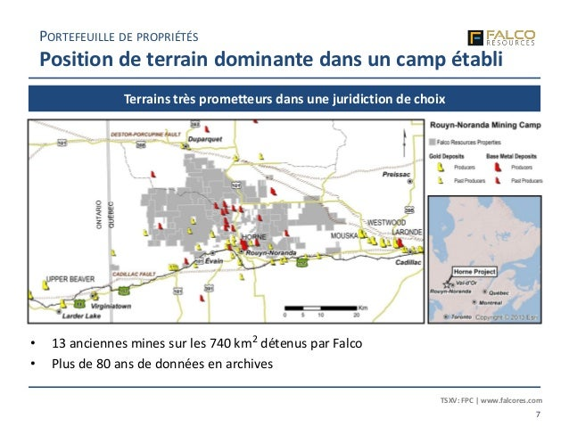 TSXV: FPC | www.falcores.com 7 Terrains très prometteurs dans une juridiction de choix PORTEFEUILLE DE PROPRIÉTÉS Position...