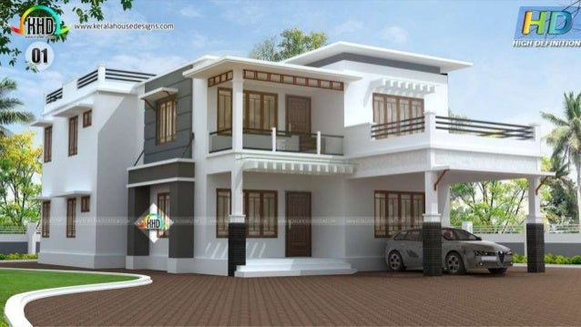 New house plans for april 2016 for Latest house designs photos