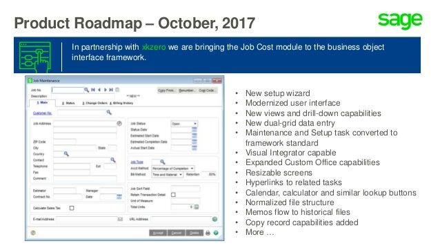 External Roadmap – Sage 100 and 100cloud