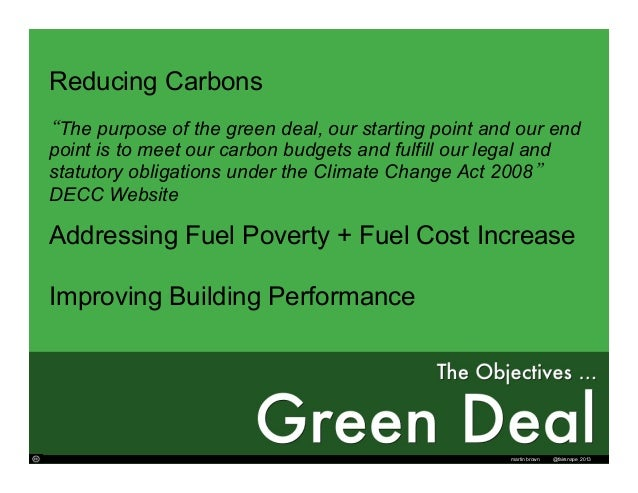Revisited: More than just a Green Deal Slide 2