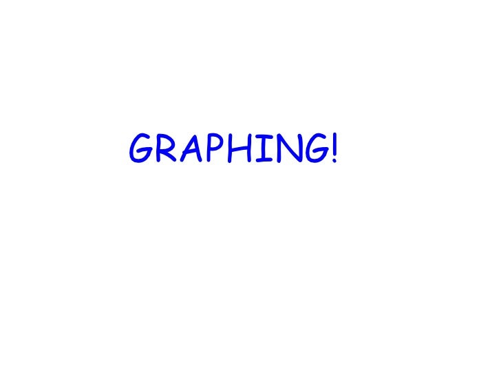 GRAPHING!