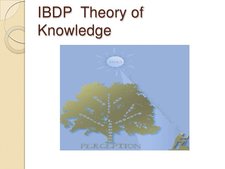 IBDP  Theory of Knowledge<br />