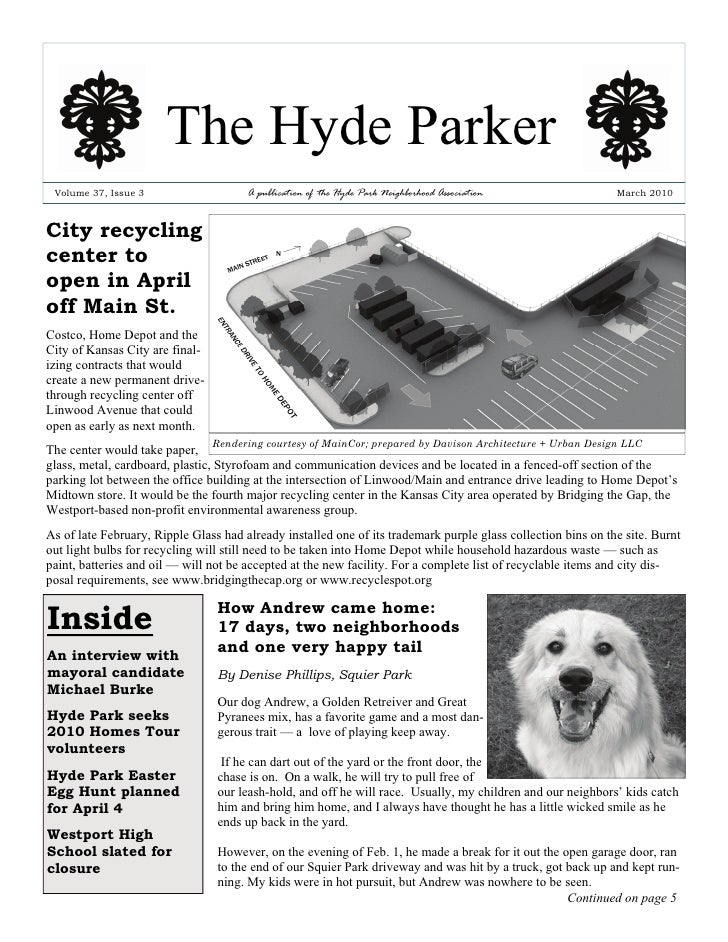 The Hyde Parker  Volume 37, Issue 3                    A publication of the Hyde Park Neighborhood Association            ...