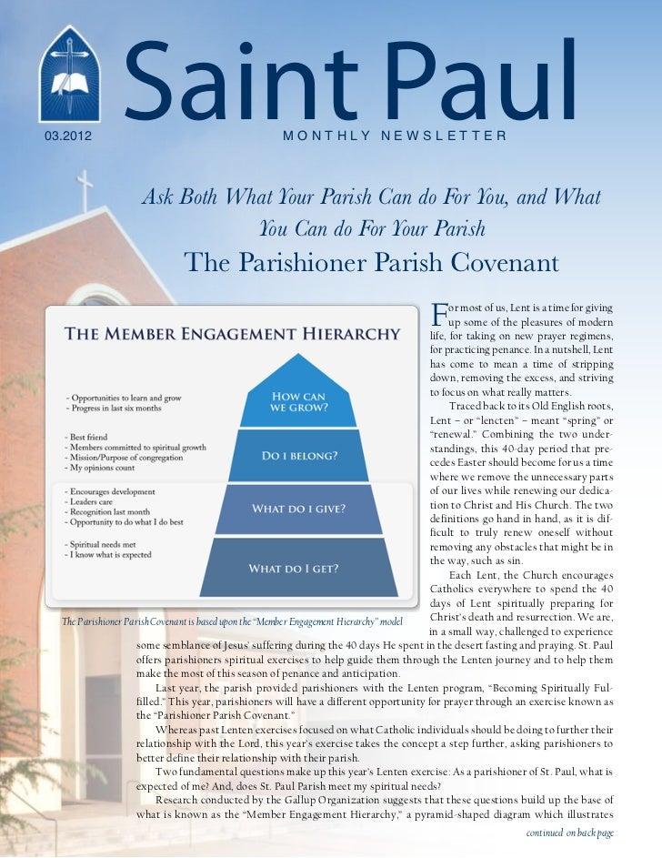 03.2012                Saint Paul                             M O N T H LY N E W S L E T T E R                     Ask Bot...