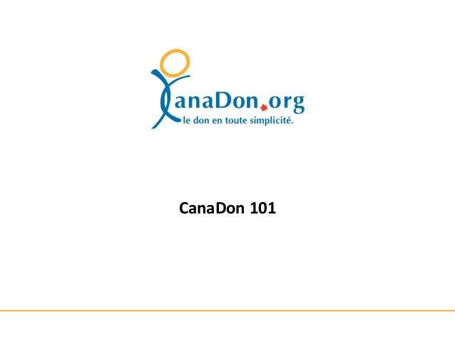 CanaDon 101