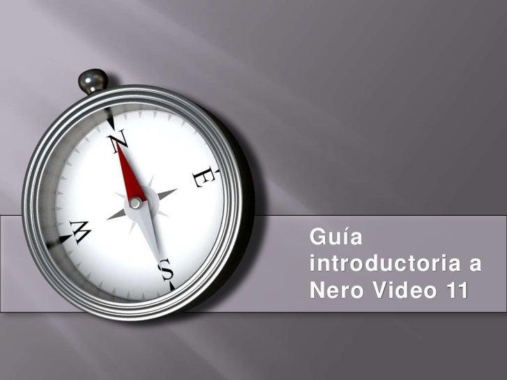 Guíaintroductoria aNero Video 11