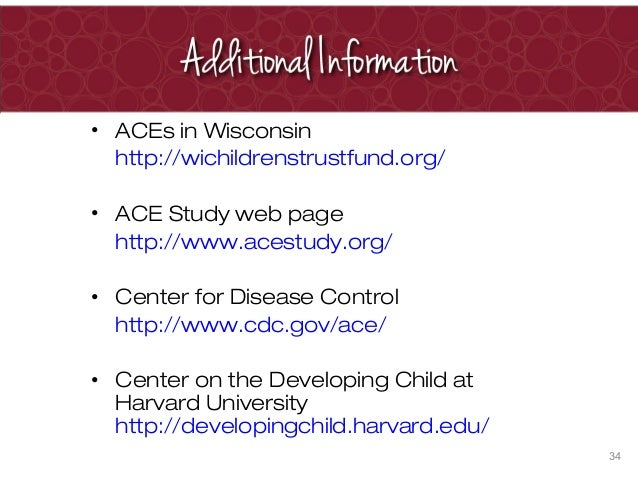 ACE Study in Wisconsin | ACEsConnection