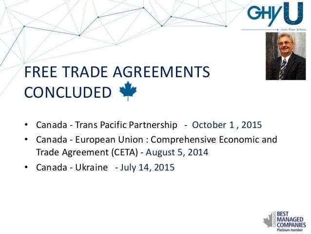 GHY University: Global Free Trade Agreements - Case Studies of Utiliz…