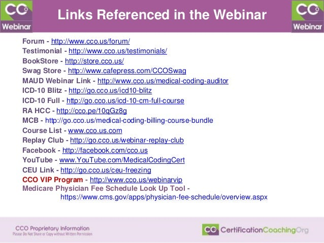 Links Referenced in the Webinar Forum - http://www.cco.us/forum/ Testimonial - http://www.cco.us/testimonials/ BookStore -...