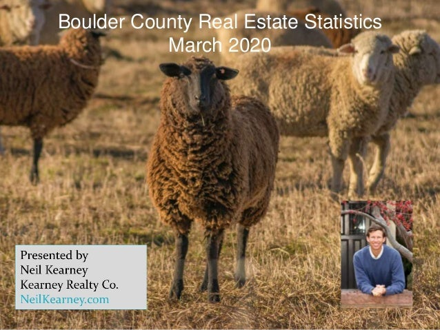 Boulder County Real Estate Statistics March 2020
