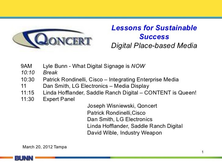 Lessons for Sustainable                                           Success                                  Digital Place-b...