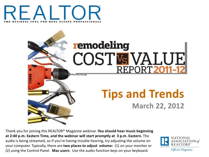 Tips and Trends                                                                            March 22, 2012Thank you for joi...