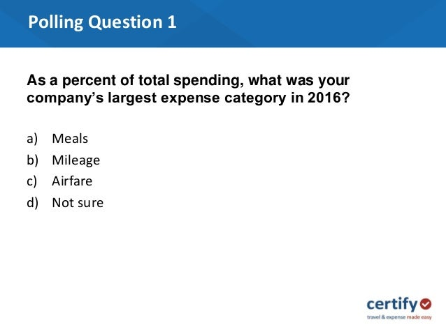 2017 t e expense trends and benchmark spending march 22 2017