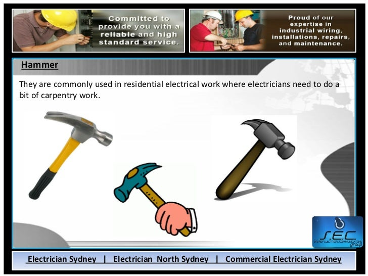 Tools Commonly Used By Electricians