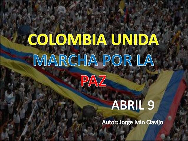 Esta fecha ha sido consagrada como el día nacional de lamemoria en la Ley de Víctimas, esta vigente desde enero de2012, y ...