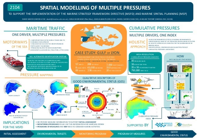 SPATIAL MODELLING OF MULTIPLE PRESSURES  2104  TO SUPPORT THE IMPLEMENTATION OF THE MARINE STRATEGY FRAMEWORK DIRECTIVE (M...
