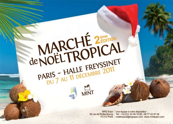 Marché De Noel Tropical 2011 Copy