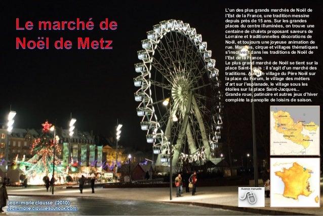 L'un des plus grands marchés de Noël de l'Est de la France, une tradition messine depuis près de 15 ans. Sur les grandes p...