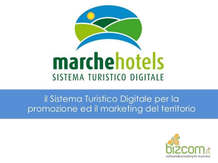 ilSistemaTuristicoDigitale per la promozioneedil marketing del territorio<br />
