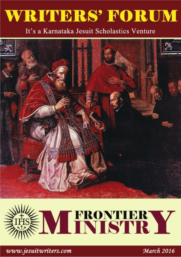 MARCH 2016MARCH 2016 Writers' ForumWriters' Forum0202 EDITORIALEDITORIAL Praveen Martis, SJPraveen Martis, SJ very Christi...