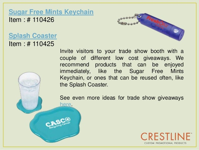 Sugar free promotions giveaways