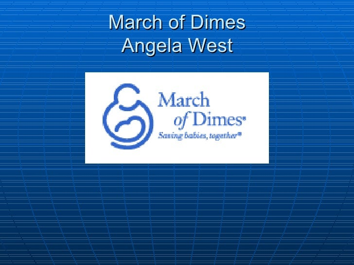 March of Dimes Angela West