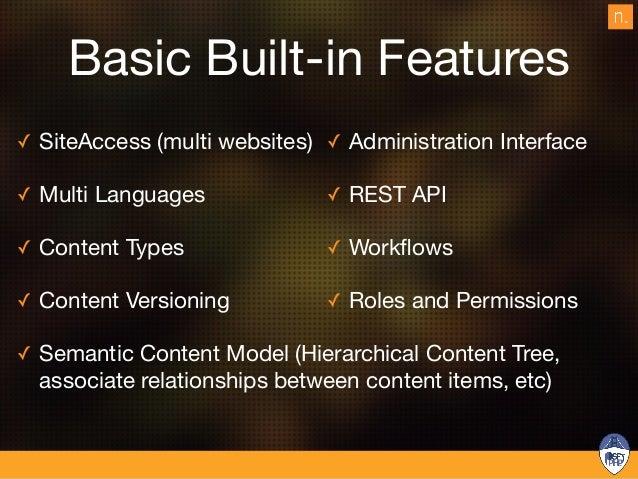 Separation of concerns No design nor html in the database Lorem ipsum Lorem ipsum Raw content Design Web page